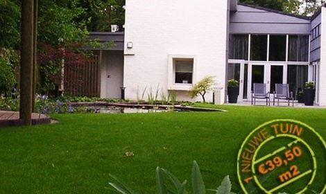 nieuwe tuin gerealiseerd door onze hovenier